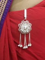 Silver Chabi Challa for women