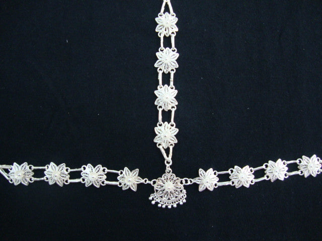 Silver Filigree Odissi Matha Patti OD041