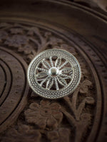 Konark Wheel Brooch