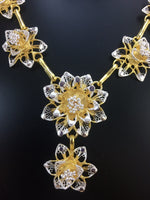 Golden Filigree Necklace Silver Linings