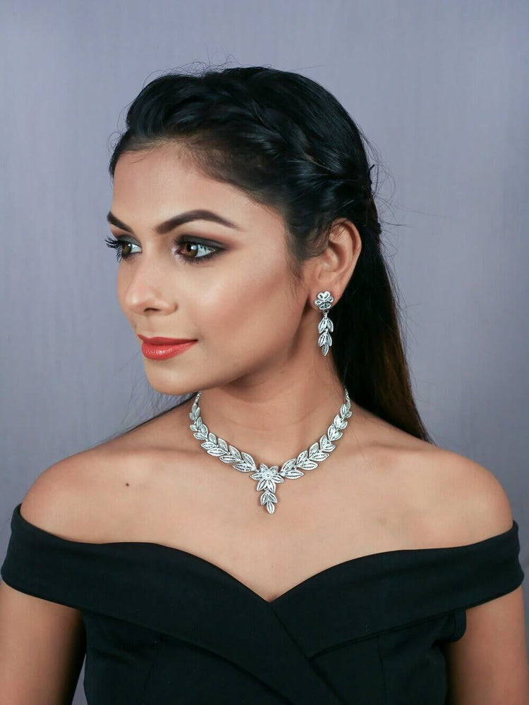 Silver Necklace sets