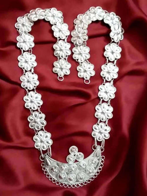 Odissi Silver Necklace