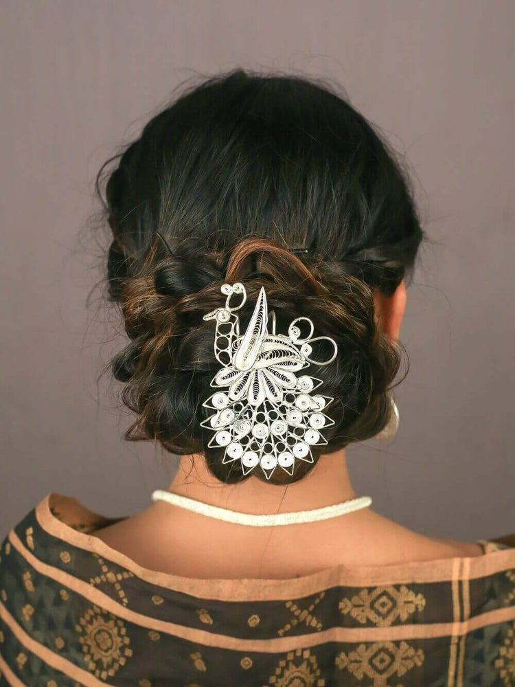 Silver Hair jewellery