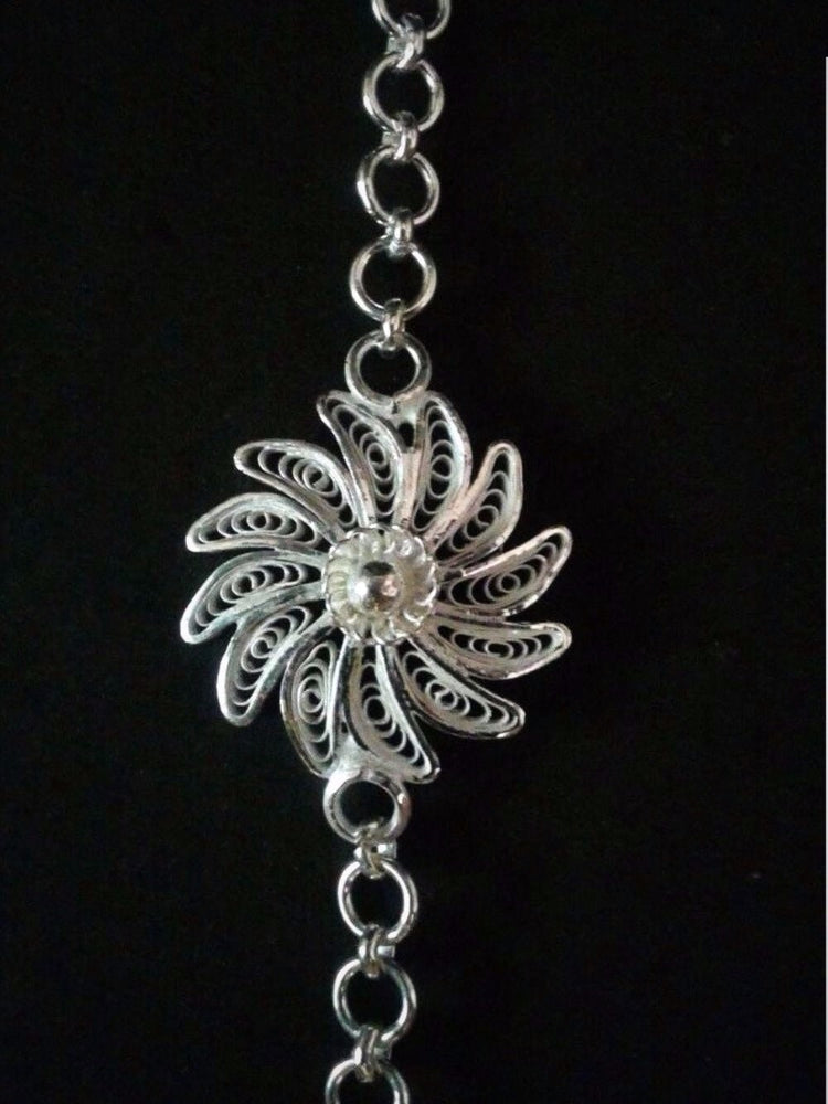 Rakhi Online India in Silver