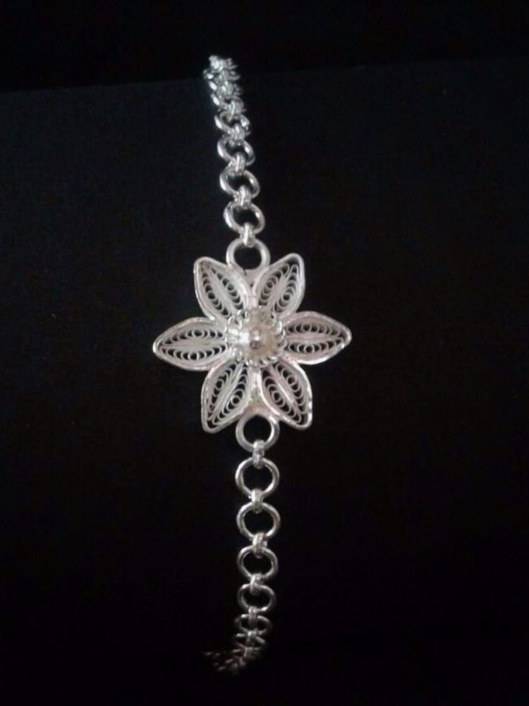 Silver Rakhi - The charming YOU