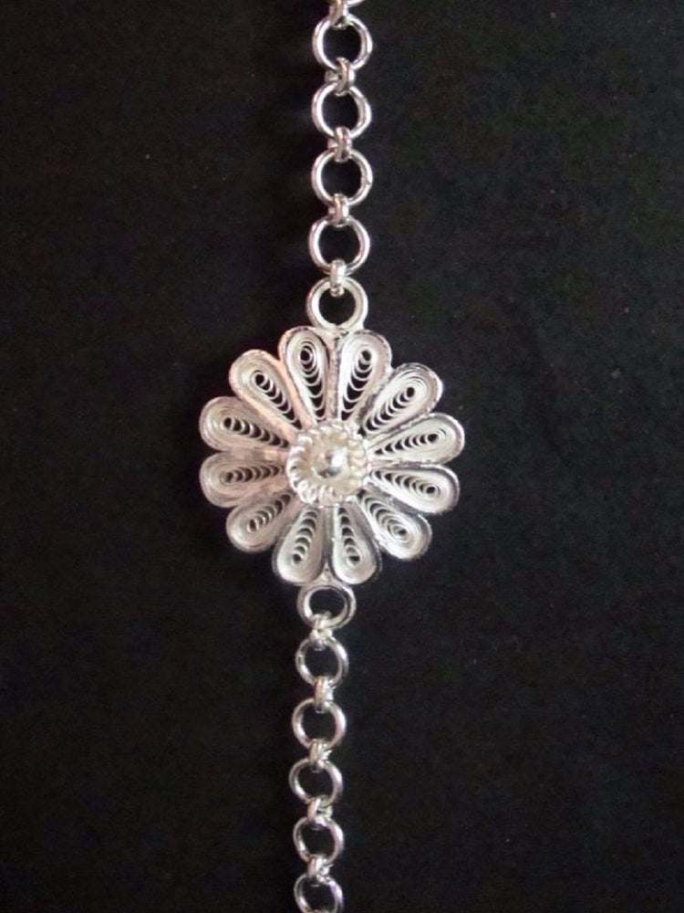 Silver Rakhi - The girly YOU