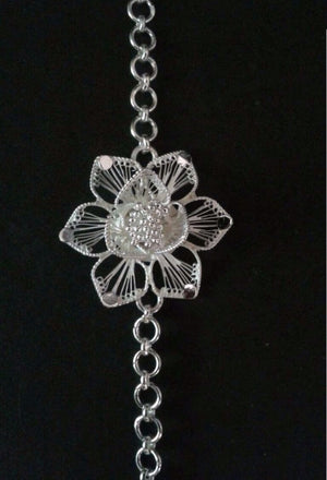Silver Rakhi from Silver Linings Cuttack