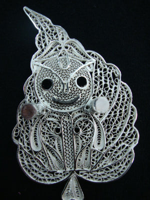 Load image into Gallery viewer, Silver Filigree Lord Jagannath