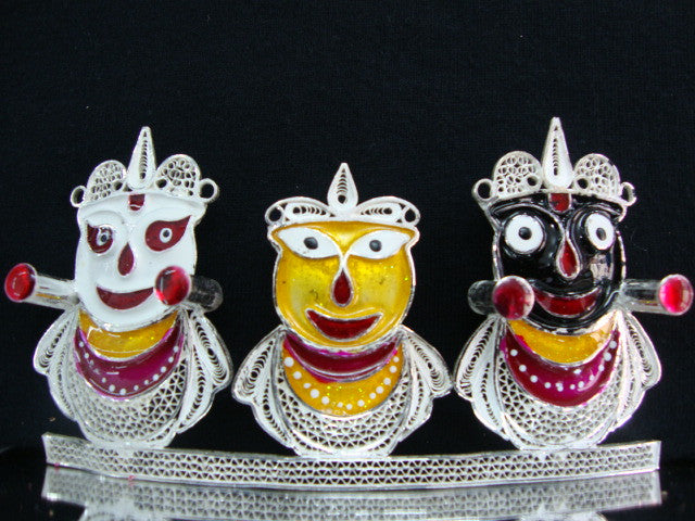 Silver Filigree Lord Jagannath