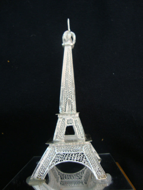 Silver Eiffel tower