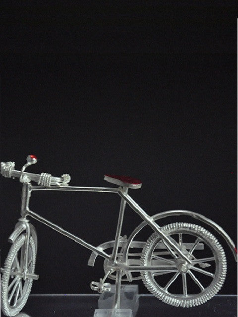 Silver Filigree Bicycle