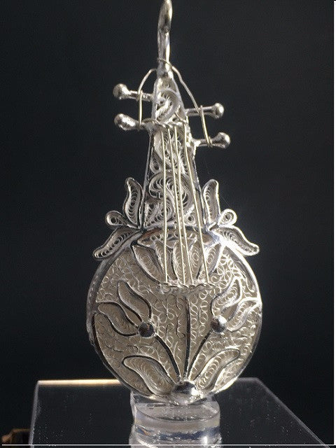 Silver Filigree Violin
