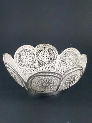 Silver Filigree Bowl