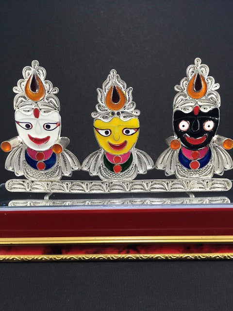 Silver Filigree Jagannath