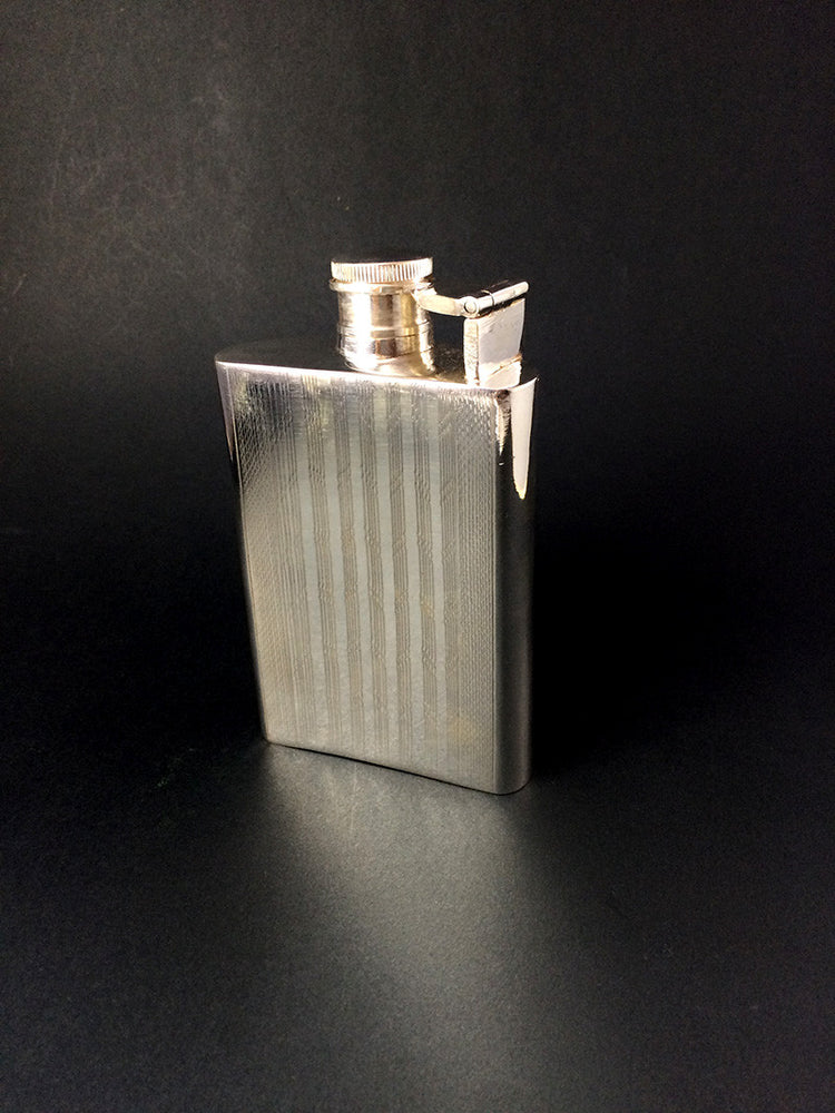 Silver Whisky Flask
