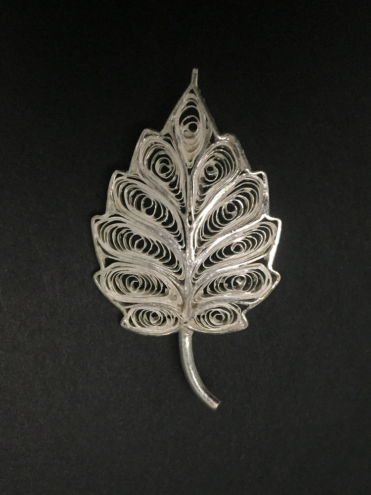 Silver Saree pin