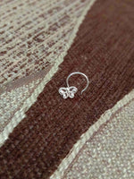 Nose Pin Butterfly