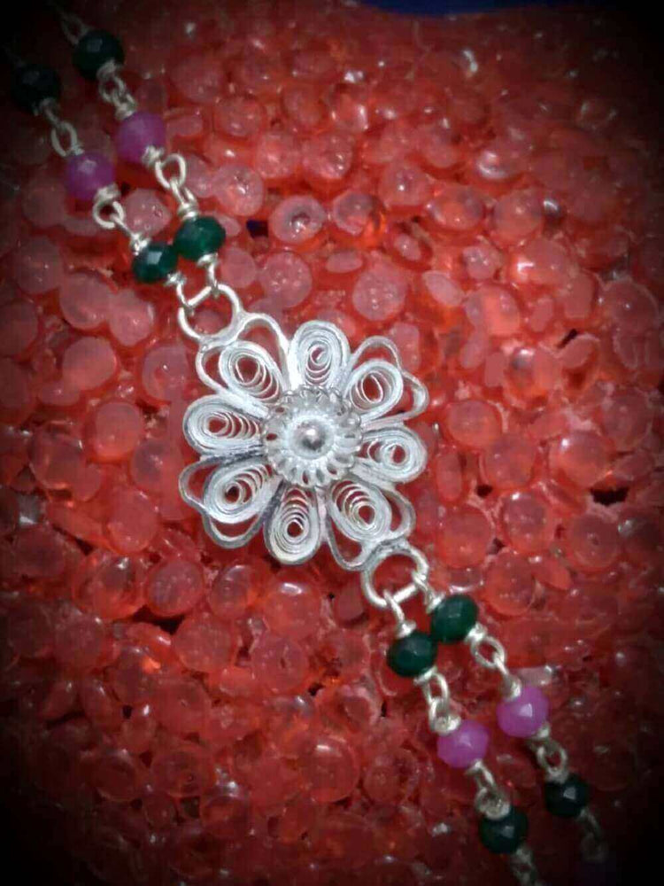 Silver Rakhi Supportive