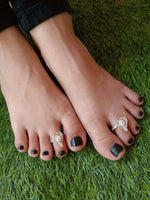 Heart Toe Rings