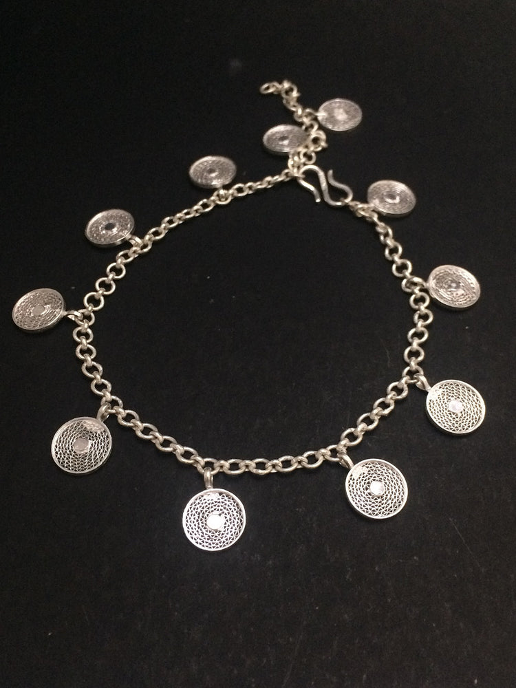 Silver Anklets for women online