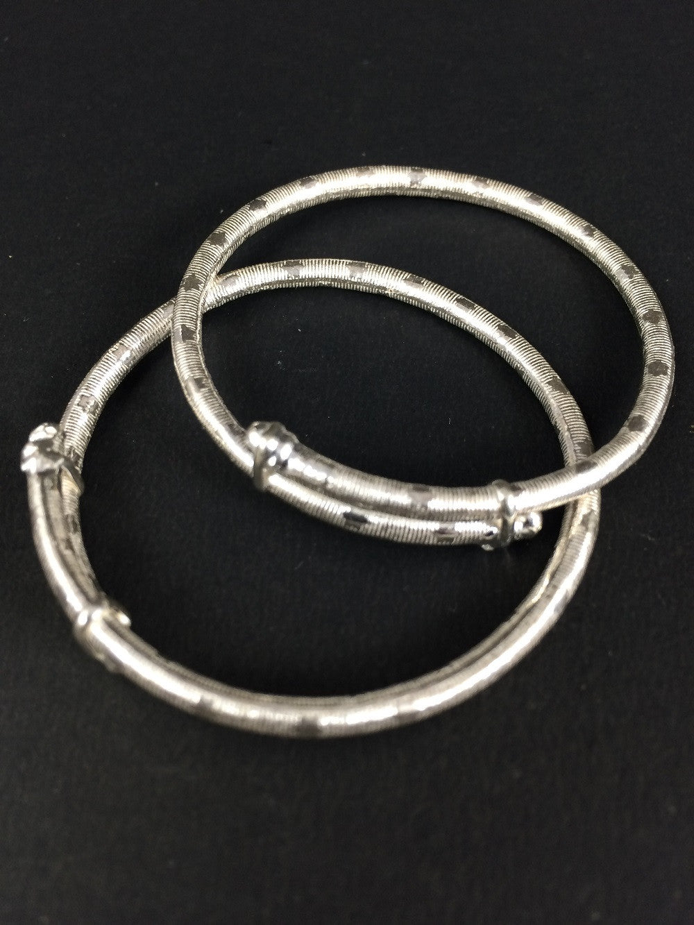 bangle of thin jewelry bracelet three stackable sterling thinstackable silver bangles bling set