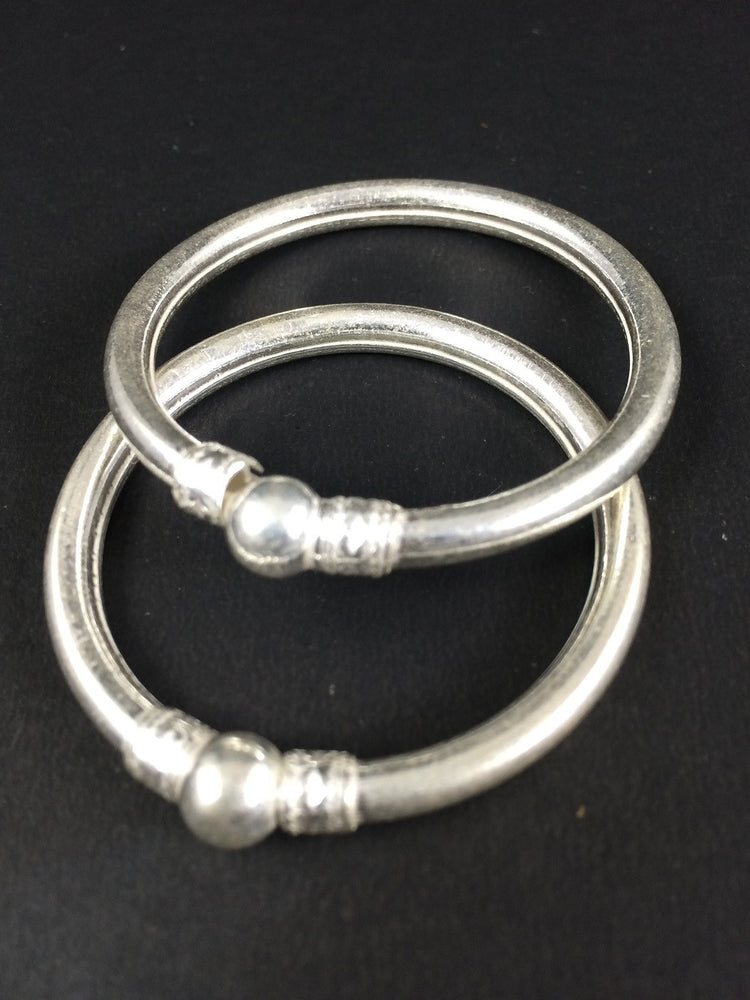 Gifts for kids Silver bangles