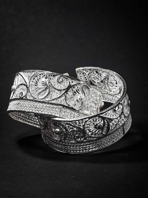 Load image into Gallery viewer, Silver Cuffs Bangles