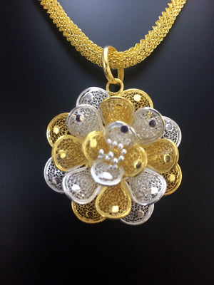 Load image into Gallery viewer, Silver Filigree Jewelry