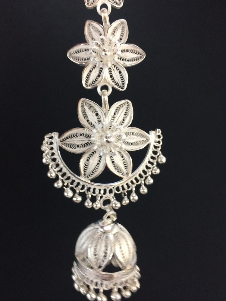 Silver Filigree Orissa Jewelly