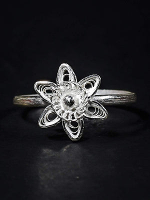Silver Filigree Rings