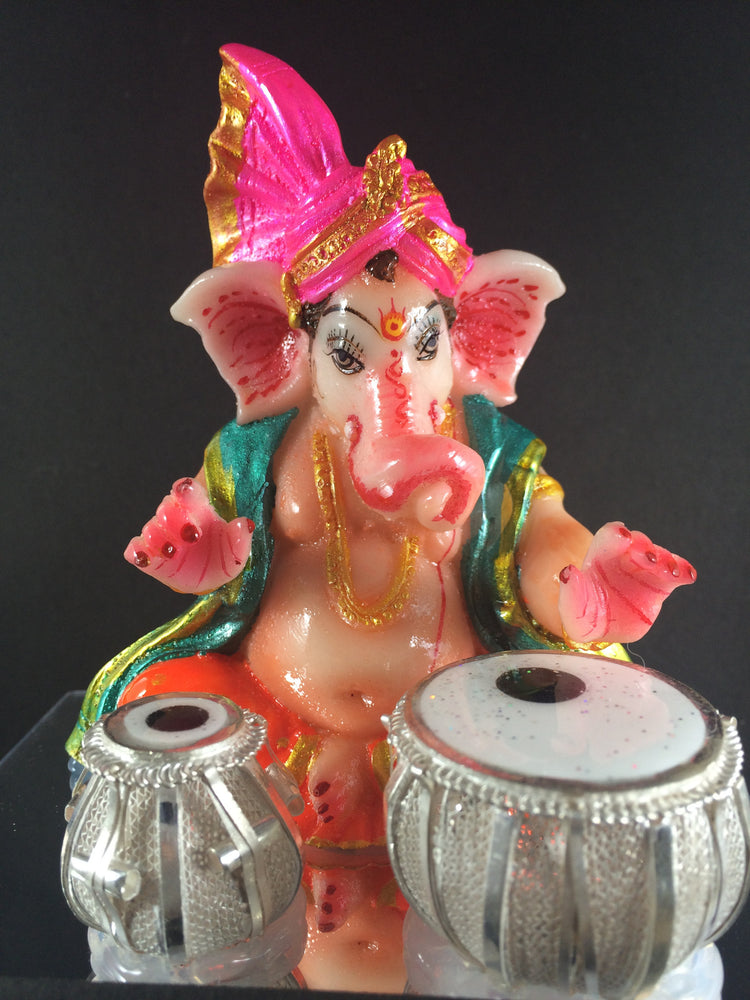 Silver Ganesh Tabla