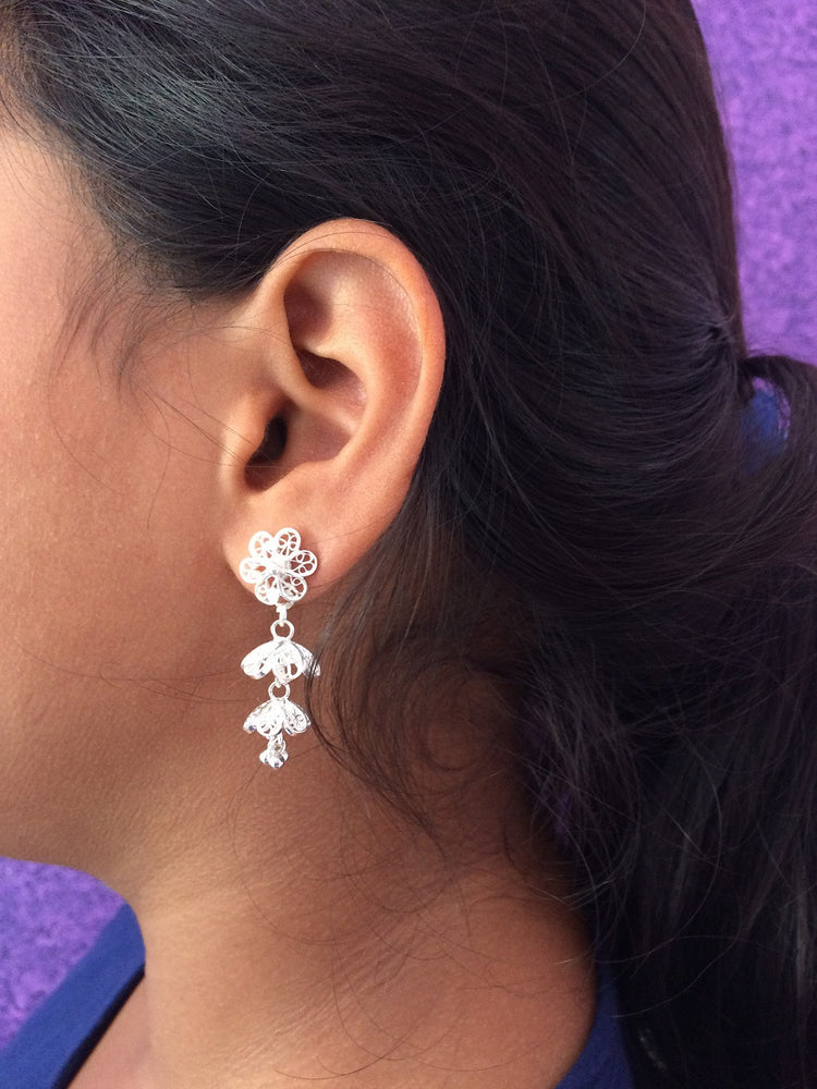 Silver Dangles Earrings