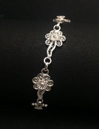 Silver Ladies Anklets