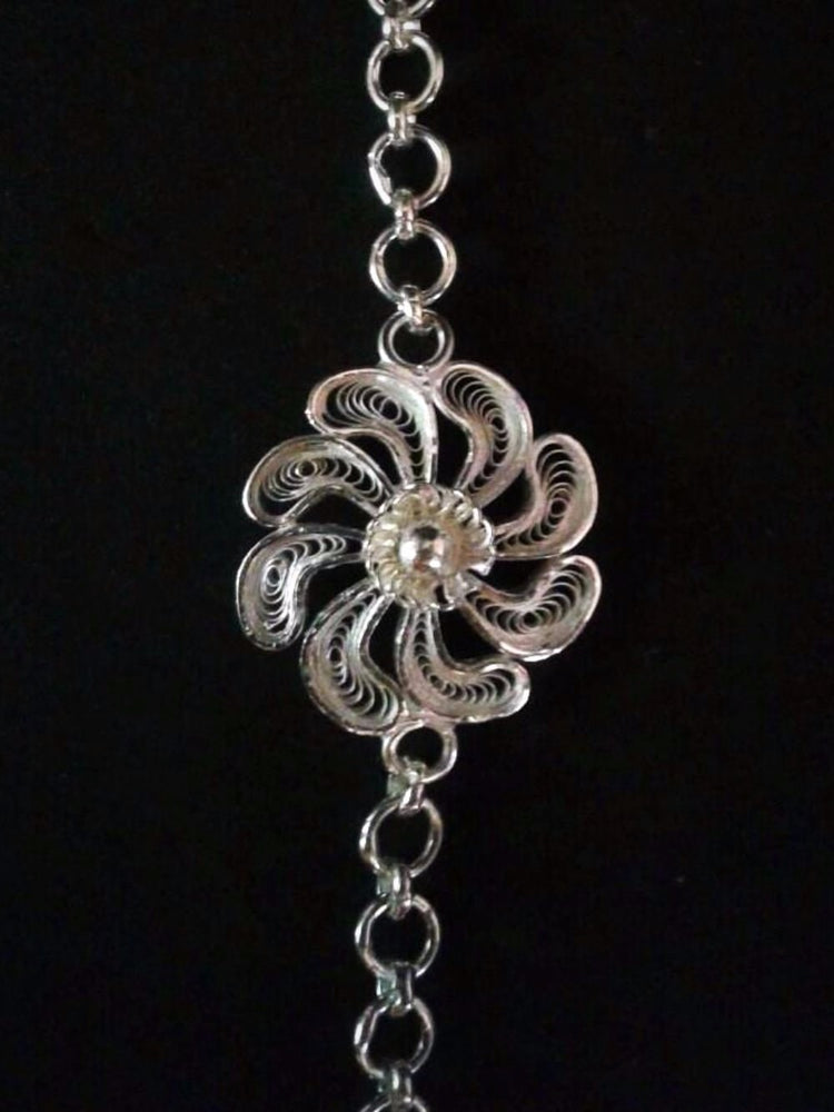 Silver Rakhi - The bold YOU