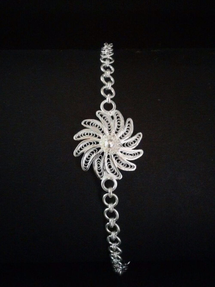 Load image into Gallery viewer, Silver Rakhi Online India