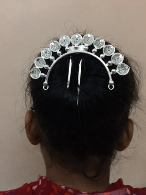 Load image into Gallery viewer, Silver hair accessories