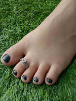 Stone Toe Ring Single