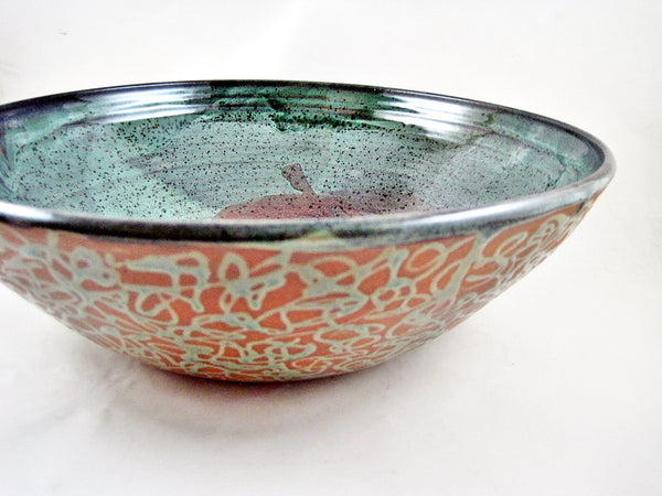 Large decorative serving bowl from The Twist Collection - 41SB
