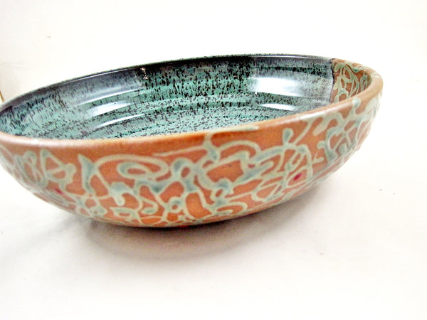 Pottery Serving Bowl from The Twist Collection