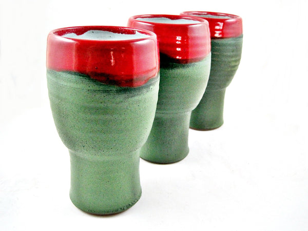Handmade IPA glass - Ning's Pottery