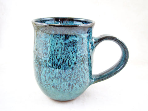 Teal blue coffee mug, 22 oz - TBM 32