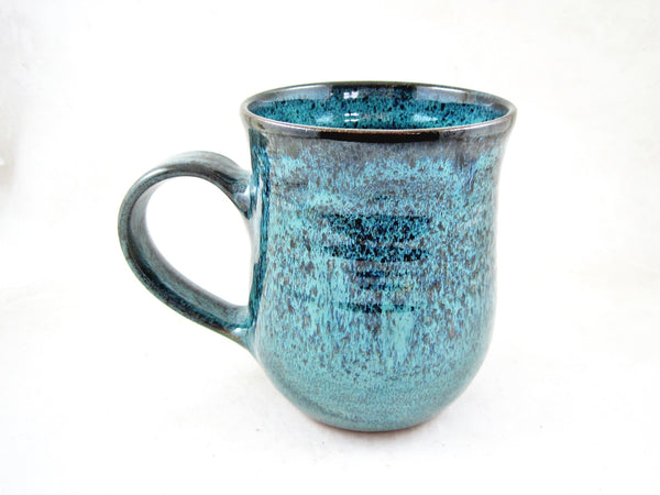 Teal blue coffee mug, 25 oz - TBM 33