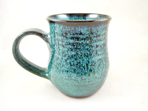 Teal blue coffee mug, 20 oz - TBM 34
