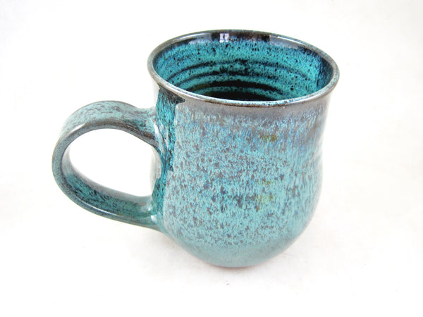Teal blue coffee mug, 22 oz - TBM 35