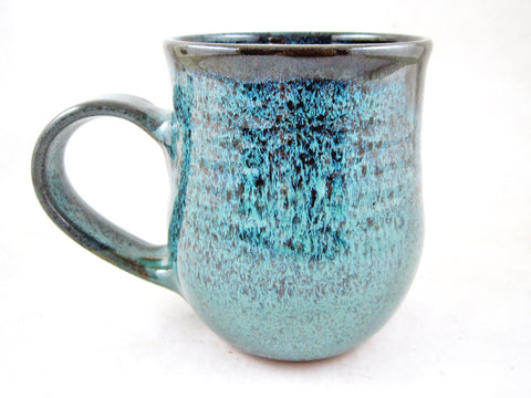 Teal blue coffee mug, 22 oz - TBM 36