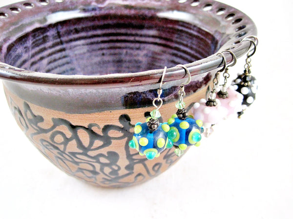 Purple Jewelry bowl from The Twist collection