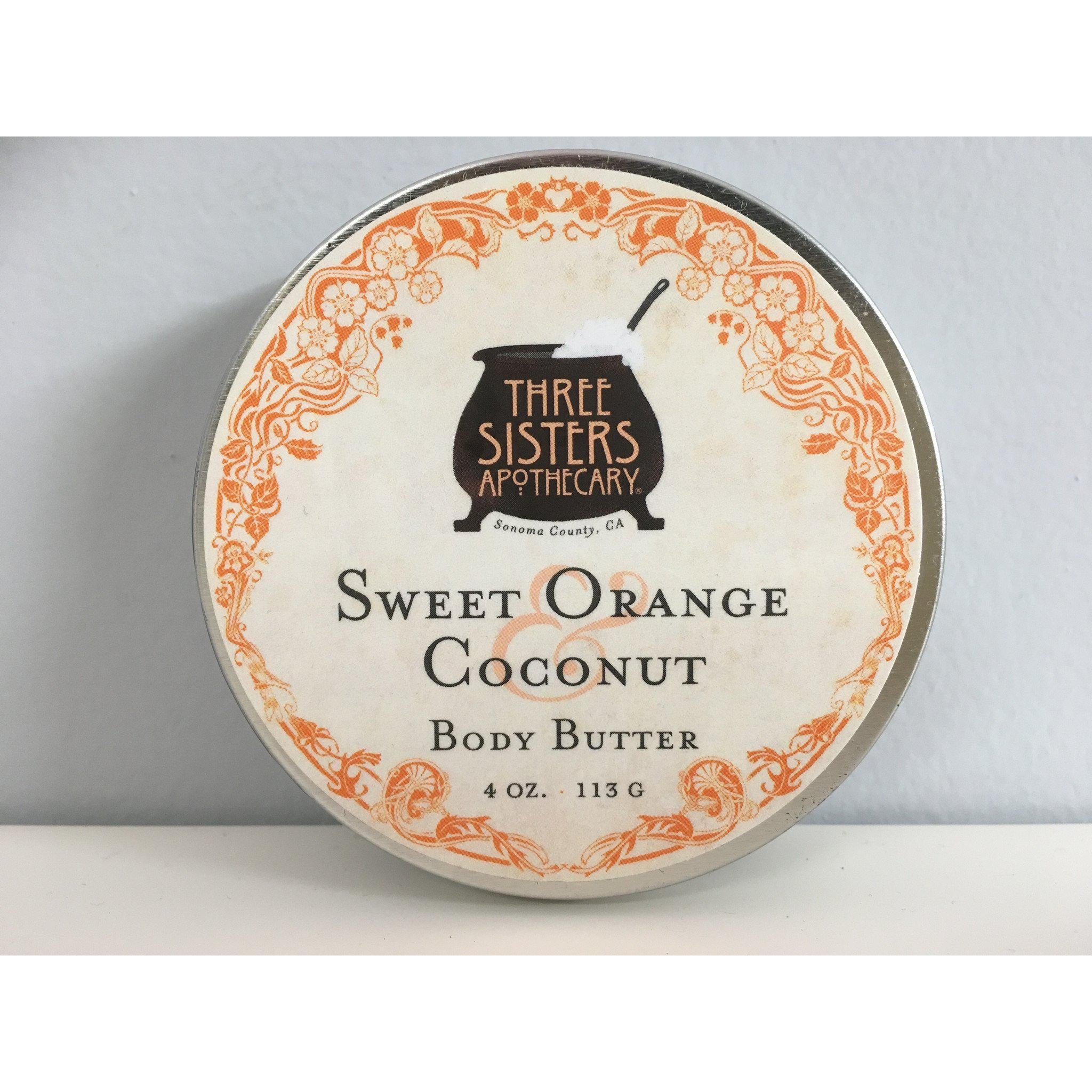 Body Butter Sweet Orange Coconut