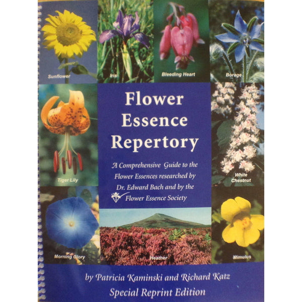FES Flower Essence Repertory-Spiral Bound