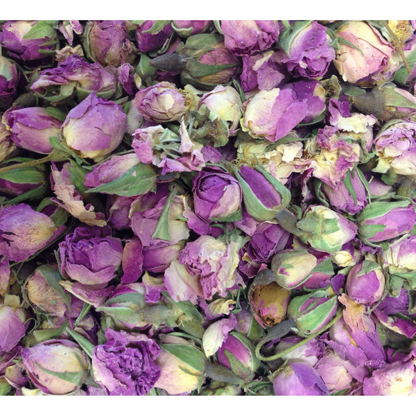 Roses Pink Buds Whole Organic 1 oz. - Rosemary's Garden
