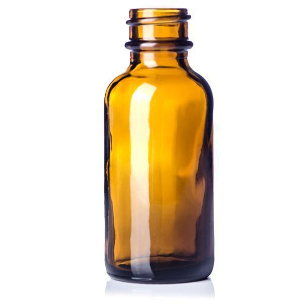 Amber 4 oz. Glass Bottle